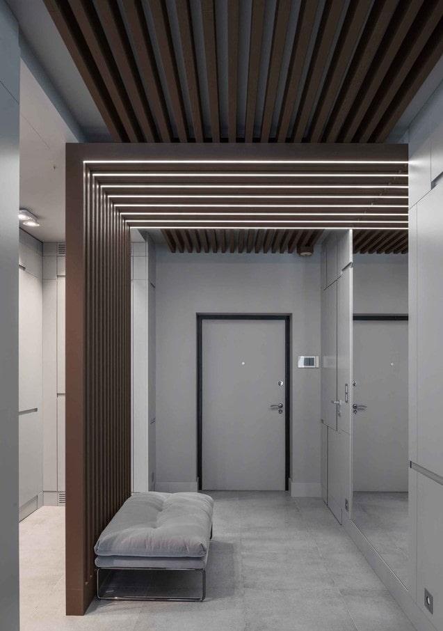 schéma de couleurs de couloir de haute technologie