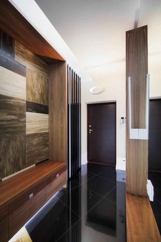 décoration de couloir high-tech