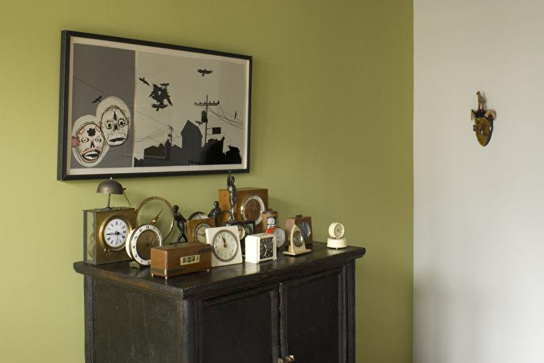 Salon Olive Loft - Design d'intérieur
