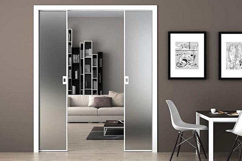 Portes coulissantes intérieures - photo