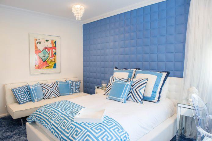décoration murale à la tête de lit avec du polyuréthane souple