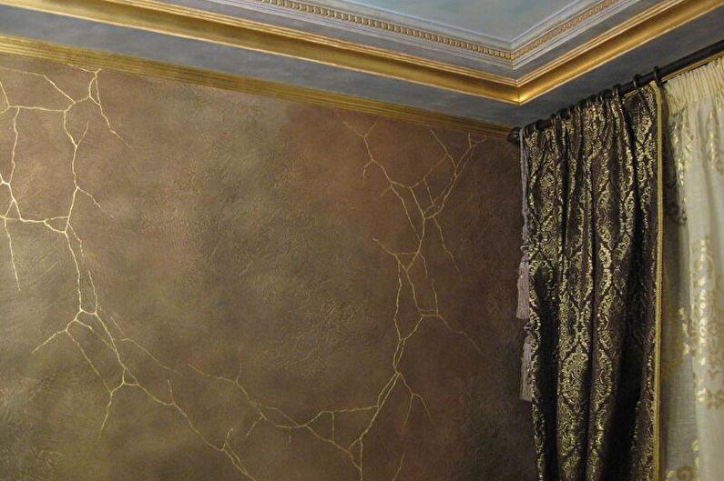 Plâtre décoratif bricolage - avantages et inconvénients