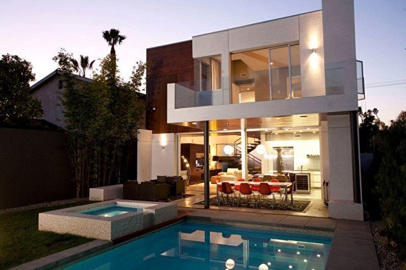 Maisons high-tech - Caractéristiques du style en architecture