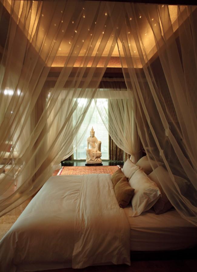 Un attribut indispensable d'une chambre dans les hôtels insulaires des pays chauds