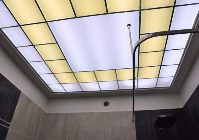 structure de plafond en acrylique