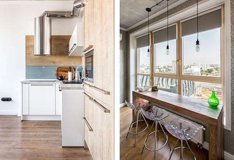 Conception d'appartement de style loft pour un jeune couple - photo