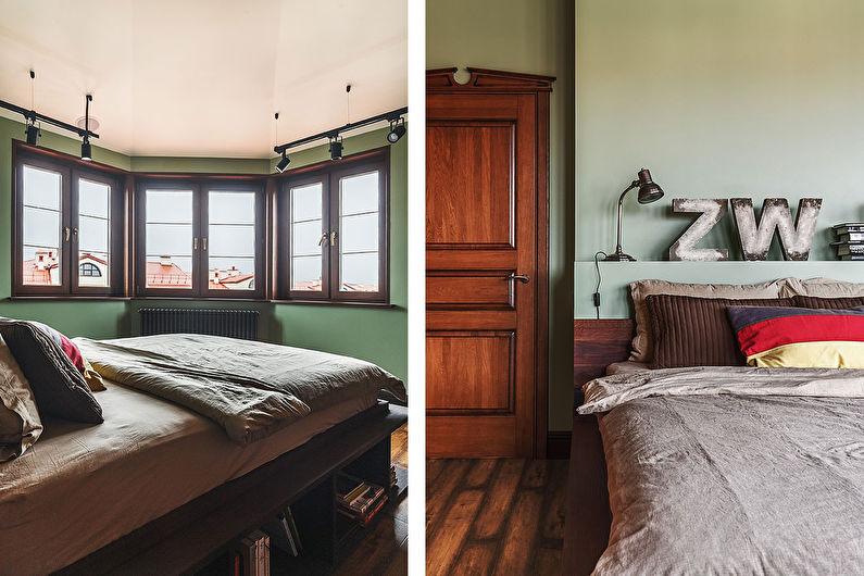 Intérieur d'un appartement de style loft à deux étages - photo