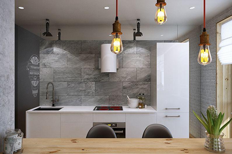 Conception d'appartement de style loft, Magnitogorsk - photo