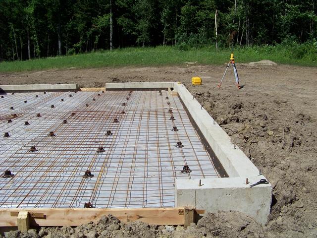 Poser les fondations d'une cuisine d'été de type ouvert