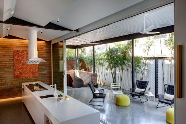 Lors de la conception d'une cuisine d'été, il est nécessaire de respecter les exigences de sécurité incendie