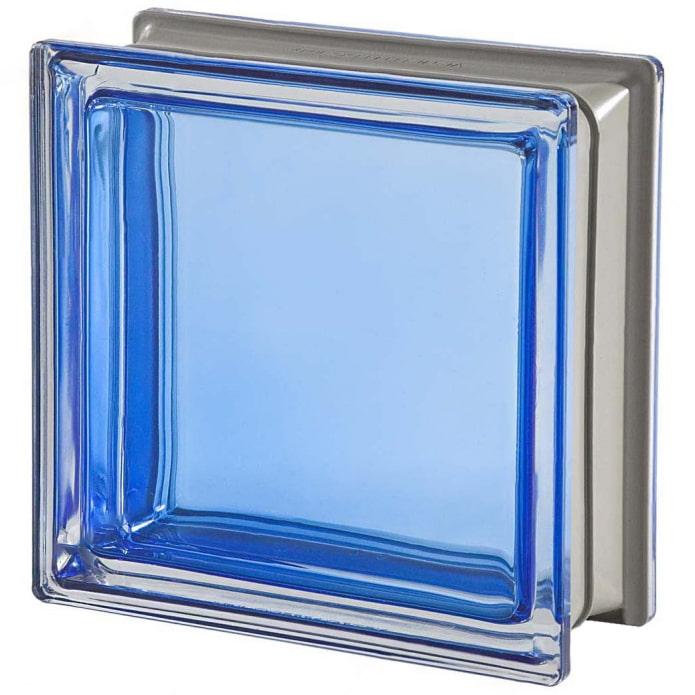 blocs de verre lisses