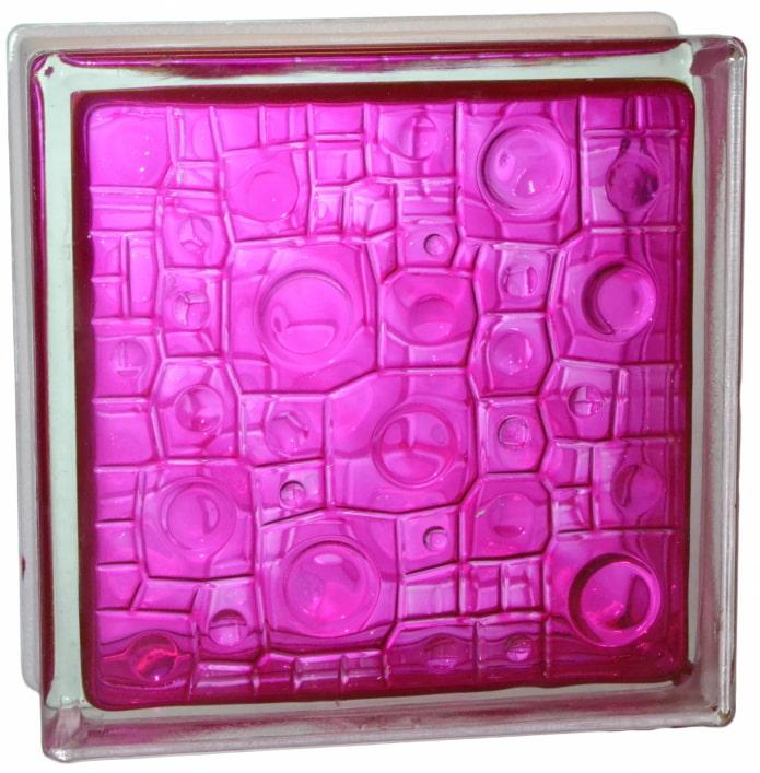 géométrie du bloc de verre