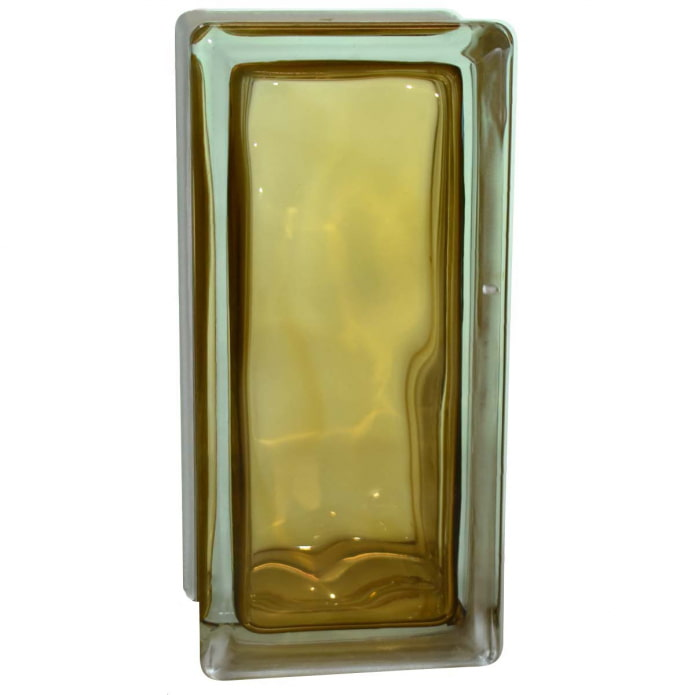 blocs de verre rectangulaires