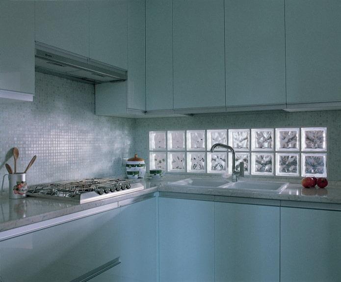 blocs de verre pour tablier