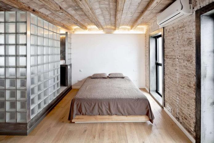 murs en blocs de verre