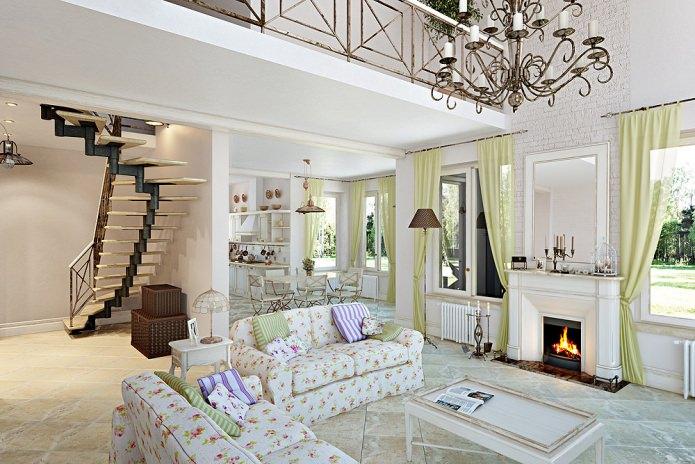 conception de maison dans le style provençal