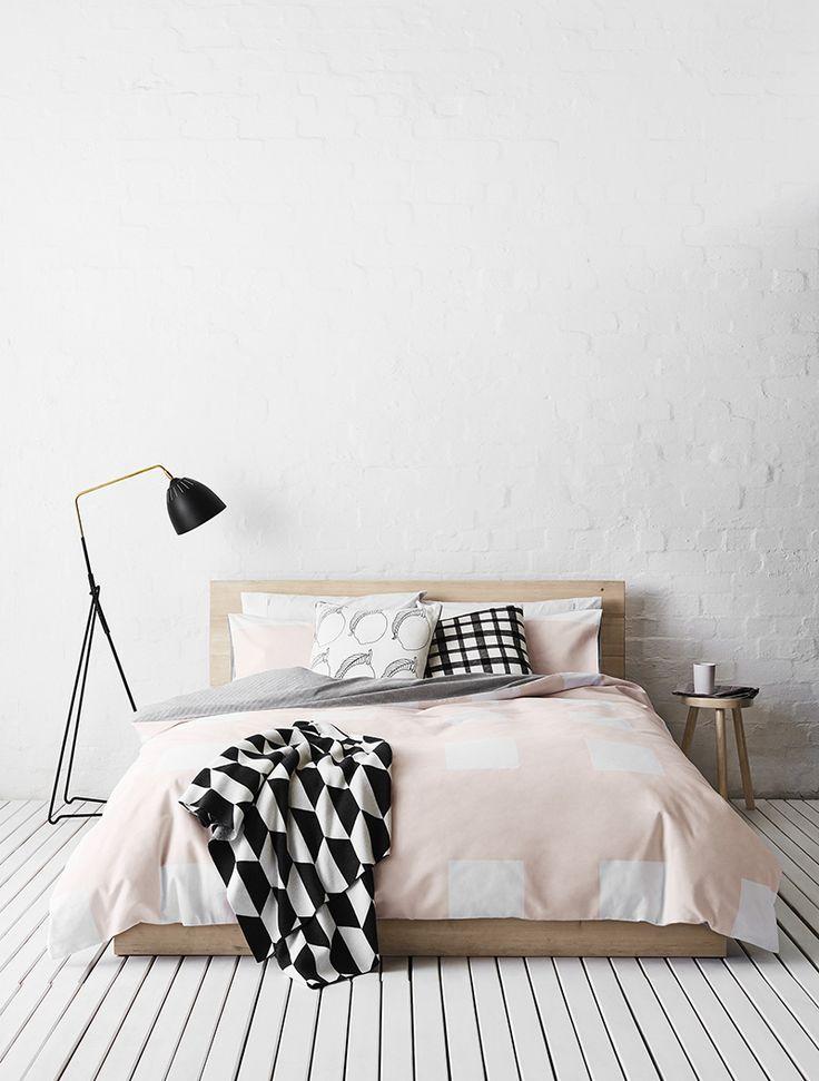 Chambre minimaliste au design laconique