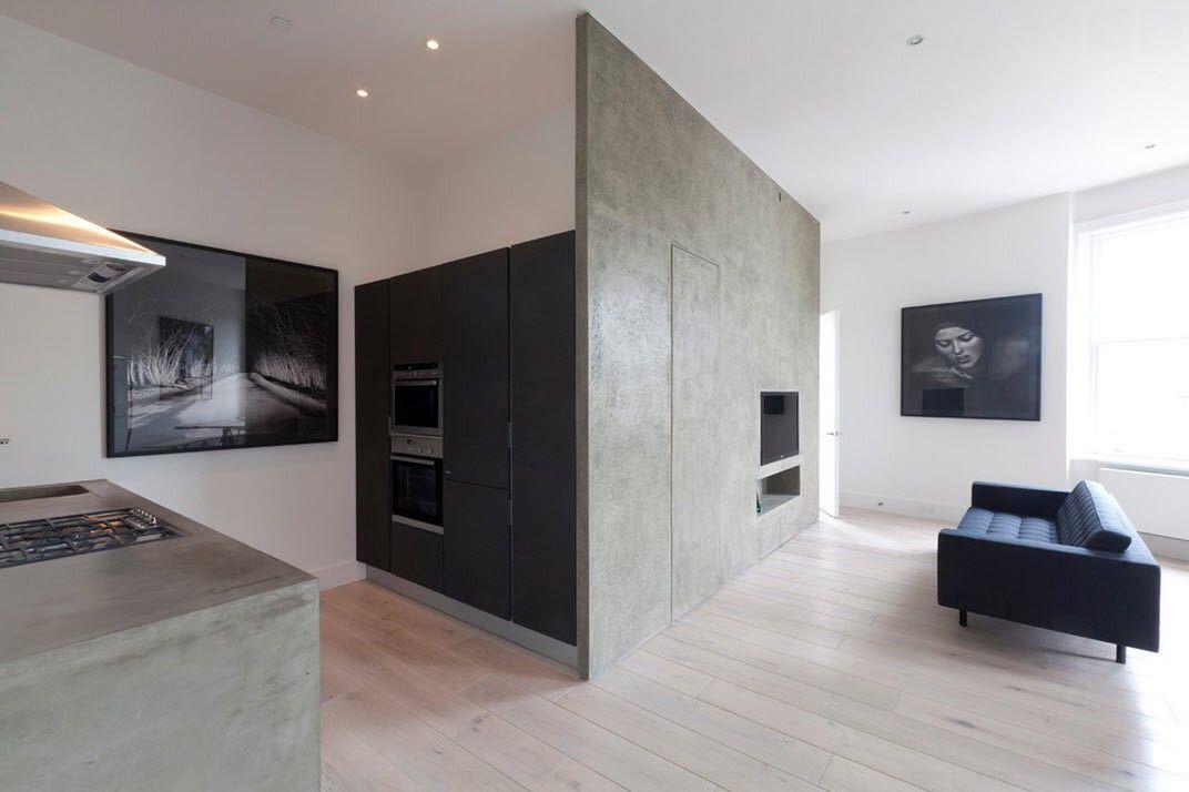 Le minimalisme se caractérise par des lignes strictes et claires.