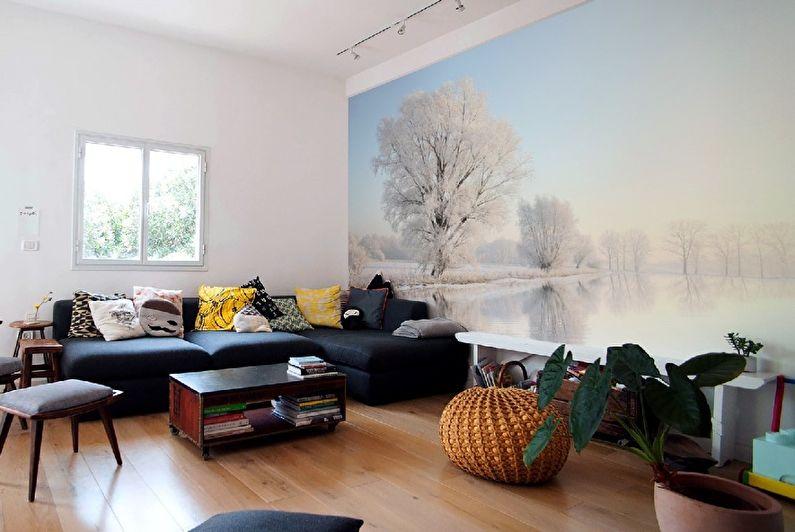 Photos murales pour le salon dans le style scandinave