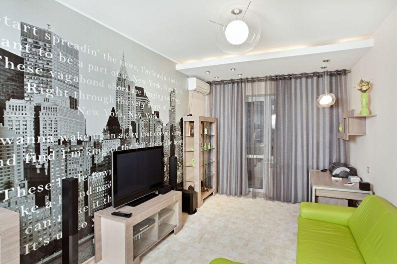 Papiers peints pour le salon dans un style moderne