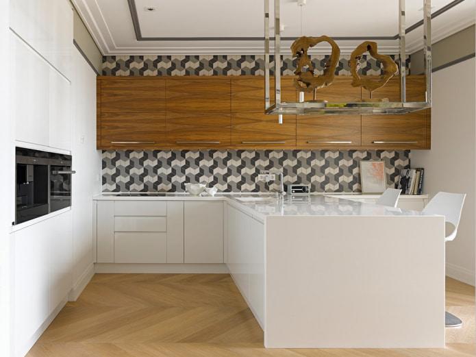 Style moderne dans la cuisine