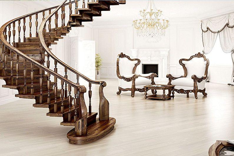 Rampe d'escalier - Principales caractéristiques