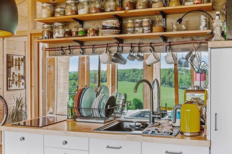 Barres de toit pour cuisine - Matériaux