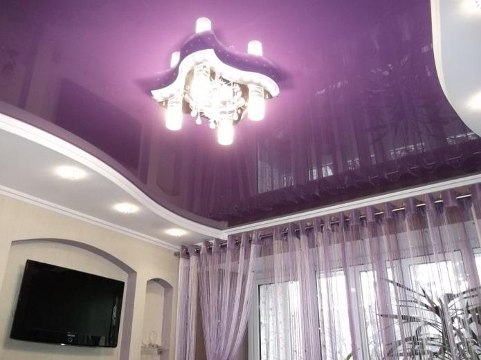 structure de tension violette à deux niveaux