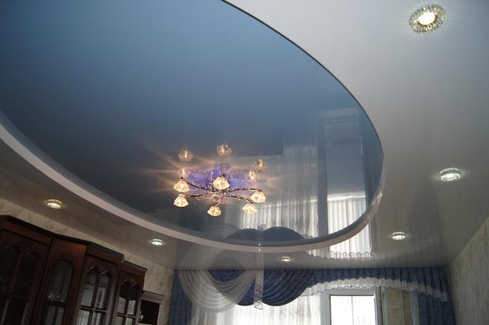 structure de tension ovale à deux niveaux