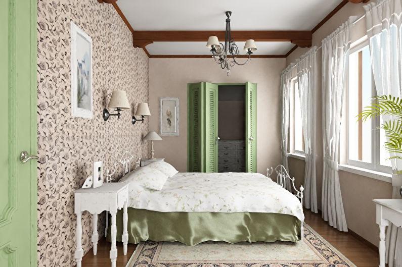 Conception de chambre de style provençal - caractéristiques de style