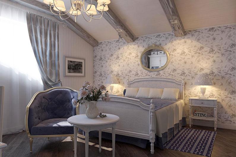 Conception de chambre de style provençal - Décoration de plafond