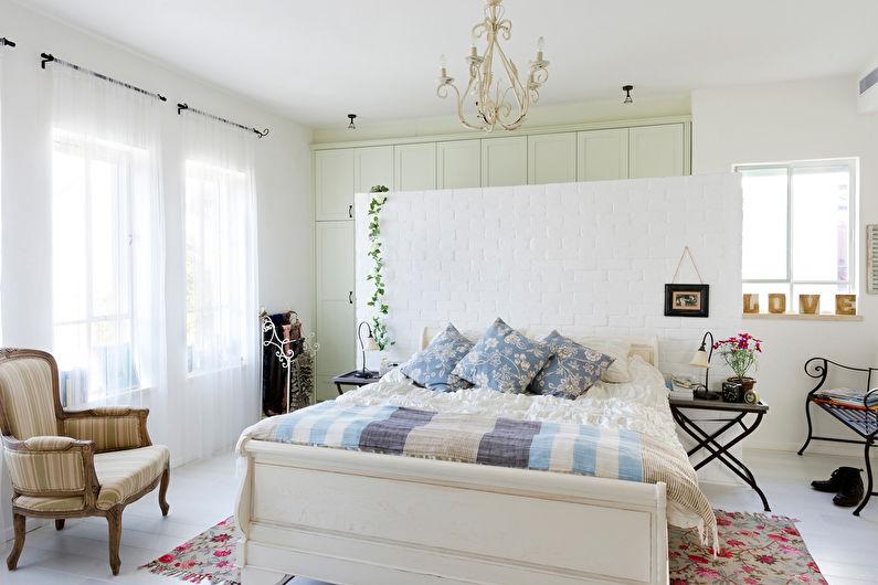 Conception de chambre de style provençal - Finition de sol