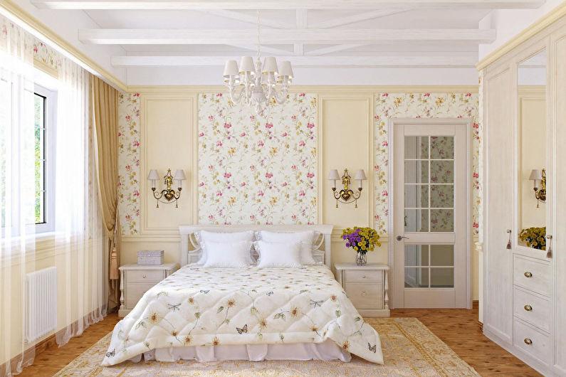 Conception de chambre de style provençal - Décoration murale