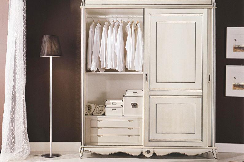 Mobilier de chambre de style provençal - Armoire