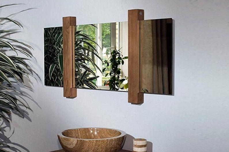 Miroir de salle de bain - Matériaux