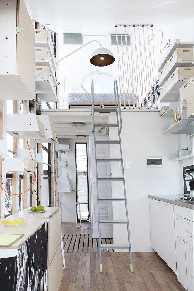 La mezzanine est le plus souvent installée dans le couloir ou les couloirs.