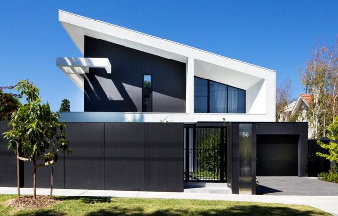 maison appentis high-tech