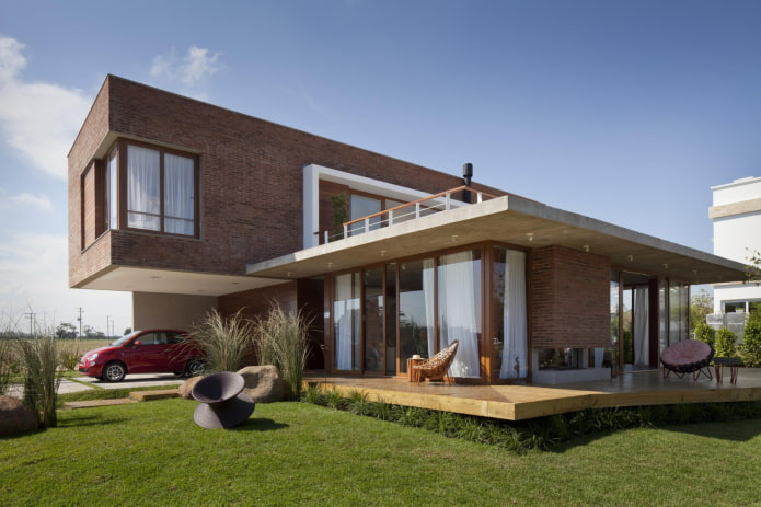 maison avec terrasse high-tech