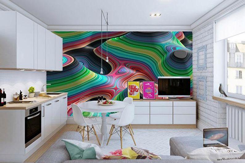 Papiers peints et peintures murales de cuisine - Papier peint