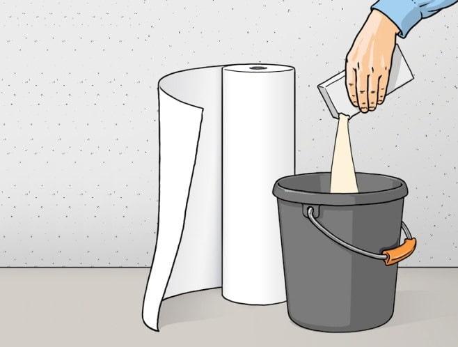 comment dissoudre la colle