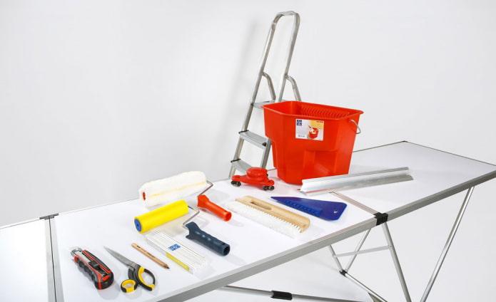 outils de papier peint