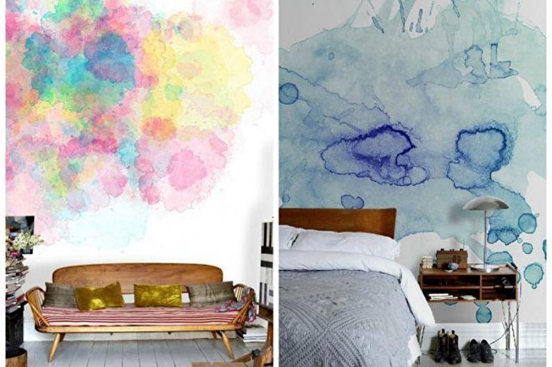 Décoration murale DIY - Aquarelle