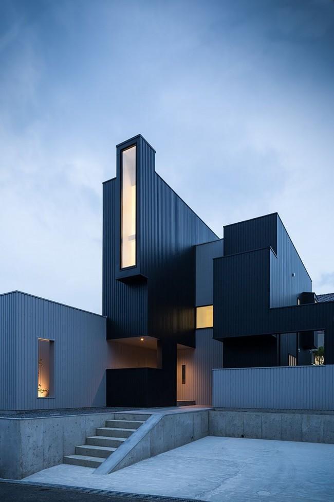 Spectaculaire maison de campagne high-tech