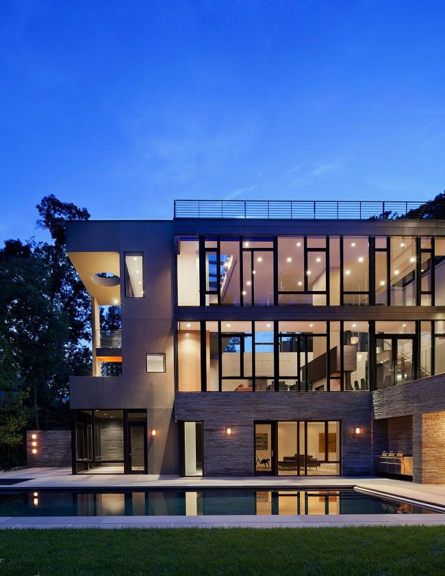 Magnifique maison high-tech spacieuse