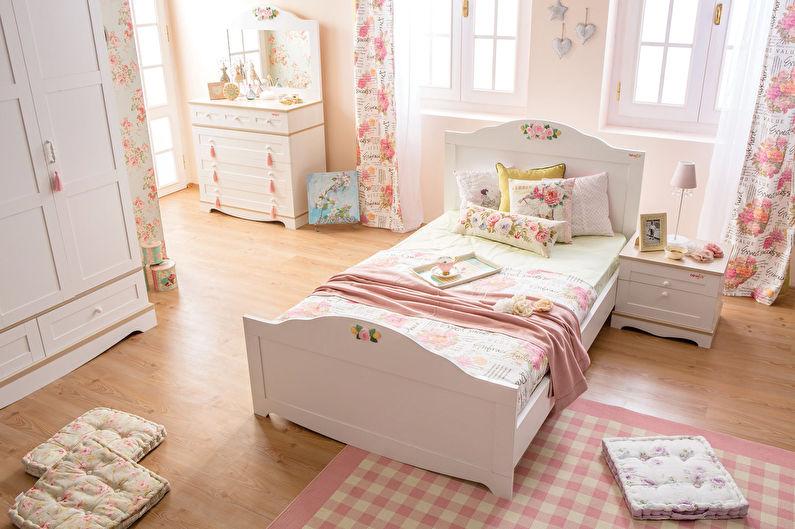 Chambre d'enfant rose pour fille - Décoration d'intérieur