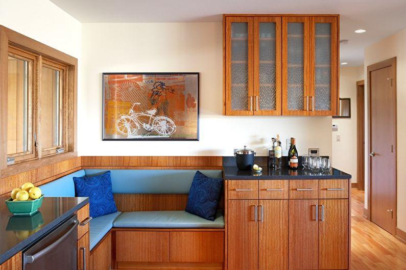 Canapés d'angle pour la cuisine