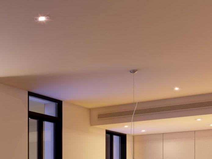 structure de plafond suspendu solide