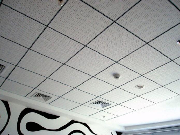 structure de plafond suspendu modulaire