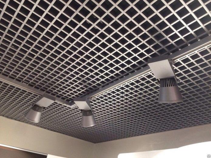 structure de plafond suspendu grilyato