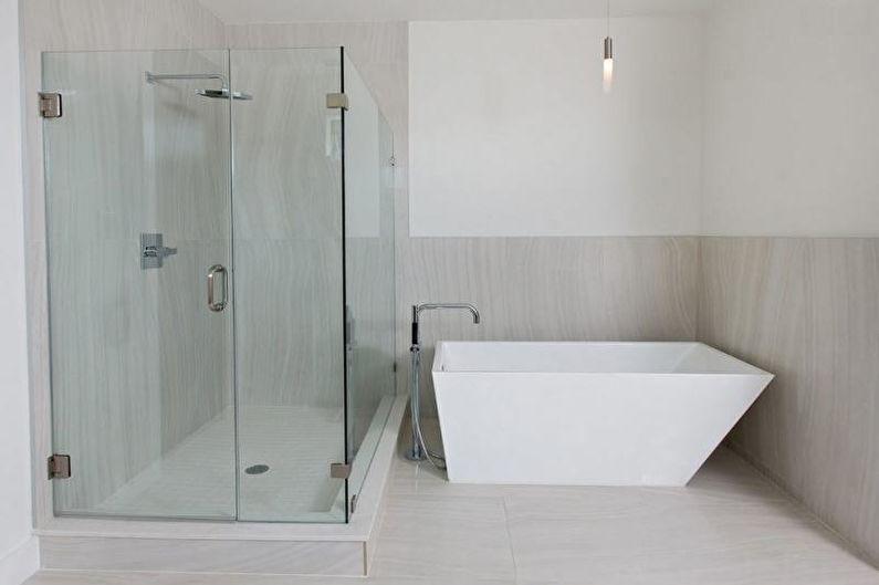 Salle de bain avec cabine de douche - Choix de la cabine de douche